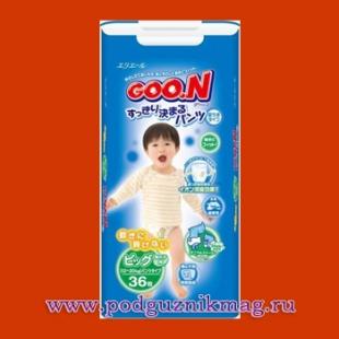 Трусики для мальчиков (Goon (Гун)) 12-20 кг. 38 шт. (BIG)